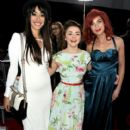 Maisie Williams at the HBO's third season premiere of 'Game of Thrones' held at the TCL Chinese Theater in Hollywood, Los Angeles on March 18, 2013 - 411 x 594