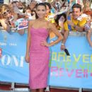 Naya Rivera attends a photocall at the 2013 Giffoni Film Festival in Ischia, Italy, on July 24, 2013