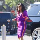 Priyanka Chopra – Filming a short commercial by the Universal Studios in Universal City