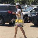 Brooke Burke in Mini Dress – Out in Malibu - 454 x 559