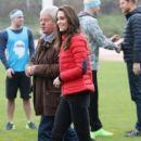 Prince William, Duchess Catherine and Harry visited London Marathon Day - 409 x 600