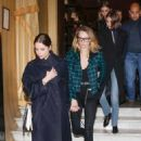 Ashley Benson with Cara Delevingne and Kaia Gerber – Seen leaving Hotel Costes in Paris