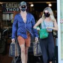 Annabelle Wallis and Chris Pine – Shopping in Los Angeles - 454 x 535