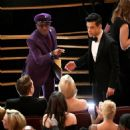 Spike Lee and Rami Malek At The 91st Academy Awards - show - 454 x 454
