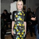Dakota Fanning attended Proenza Schouler's Fall 2012 Ready-to-Wear Fashion Show on February 15, in New York City