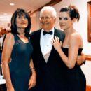 Sandra Bullock with Mother Helga Bullock and Father John Bullock