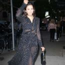 Nina Dobrev – Arrives at the Dior Makeup Launch Dinner in New York - 454 x 681