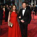 Eddie Redmayne- February 14, 2016- EE British Academy Film Awards - Red Carpet Arrivals - 450 x 600