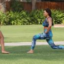 Jess Wright – Working Out in Dubai - 454 x 317