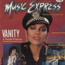 Vanity - Music Express Magazine Cover [Canada] (January 1985)