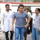 Salman Khan At Funeral Of Mona Kapoor