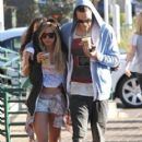 Ashley Tisdale: stop by Starbuck for an iced coffee in Malibu