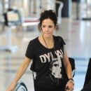 Mary-Louise Parker - At LAX Airport - October 12, 2010