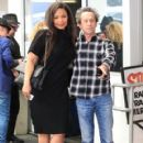 Sanaa Lathan was spotted out having lunch with Brian Grazer in Beverly Hills, California on March 24, 2017 - 420 x 600