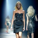 Anja Rubik Walks the Runway for the Lanvin Ready-To-Wear Fall/Winter 2012 Show