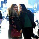 Michelle Hunziker and Aurora Ramazzotti – Out in Milan - 454 x 754