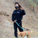Ariana Grande – Walking Toulouse in Los Angeles
