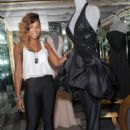 Ashanti Douglas - Shopping For A Late Night Performance At Lloyd Klein Couture Maison - 11/02/10
