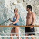 Hofit Golan in Swimsuit at Hotel Eden Roc in Antibes - 454 x 604