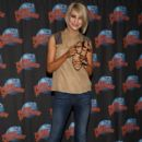 Chelsea Kane visited Planet Hollywood in Times Square in New York City today, May 25