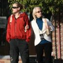 Kristanna Loken - Candids With Her Mother In Vancouver