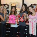 2012 Victoria's Secret Angel Holiday Celebration - 454 x 335