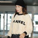 Bella Hadid – Arrives at Airport in Milan