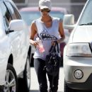 Halle Berry Leaving The Gym In West Hollywood, July 2, 2010
