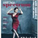 Cyndi Lauper - The Age Spectrum Magazine Cover [Australia] (26 March 2016)