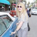 Mischa Barton Leaves A Medical Building In Beverly Hills, April 21 2010