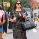 Ashley Graham in Long Dress – Out in NYC - 454 x 720