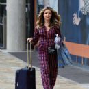 Claire Sweeney – Leaving BBC Breakfast Studios in Manchester - 454 x 536