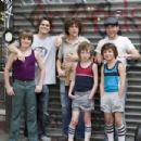 Miles Chandler, Jason Ritter, Jesse Eisenberg, Steven Hinkle, Cain Kerner and Chris Marquette in The Education of Charlie Banks. - 454 x 303