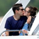 Keira Knightley enjoys her honeymoon in Corsika
