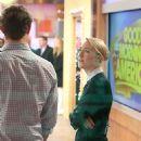 Max Irons And Saoirse Ronan At Good Morning America at SiriusXM Studios