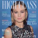 Brie Larson - High Class Magazine Cover [Paraguay] (April 2016)