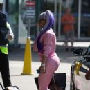 Nicki Minaj at Melbourne airport in Australia - 454 x 681
