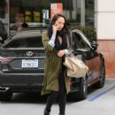 Cheryl Burke – Leaves Coffee Bean in LA - 454 x 545