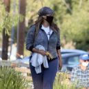 Tyra Banks – Pictured in park in Los Angeles