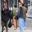 Katie Holmes – Spotted out in Soho, New York