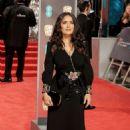 Salma Hayek – 71st British Academy Film Awards in London