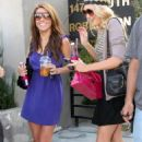 Audrina Patridge Filming For Her New Reality TV Show On Robertson Blvd In Hollywood, Los Angeles 2009-03-20