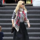 Claudia Schiffer Out And About In London, September 22, 2010