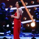 Emma Willis at 'The Voice' TV show in London - 454 x 681