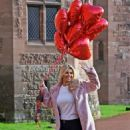 Christine McGuinness – Valentines Day Photoshoot at Peckforton Castle in Cheshire - 454 x 723