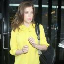 """Anna Kendrick making an appearance on """"Good Day New York"""" (August 8)"""