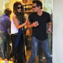 Kate Beckinsale stops by a nail salon for a mani/pedi in Santa Monica, California on January 31, 2015 - 439 x 600