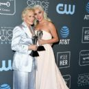 Glenn Close and Lady Gaga At The 24th Annual Critics' Choice Awards (2019) - 406 x 600