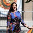 Lisa Snowdon – Filming outside ITV Studios in London - 454 x 553