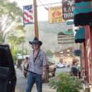 Amber and Johnny in Creede (Colorado)